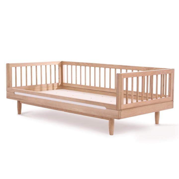 Pure Junior bed, 70 x 140 cm, oak by Nobodinoz