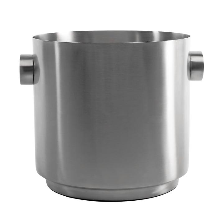 Rondo Wine bucket, stainless steel by XLBoom