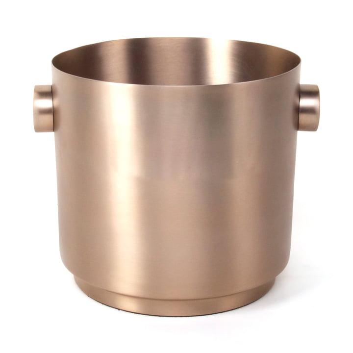 Rondo Wine bucket, copper steel from XLBoom