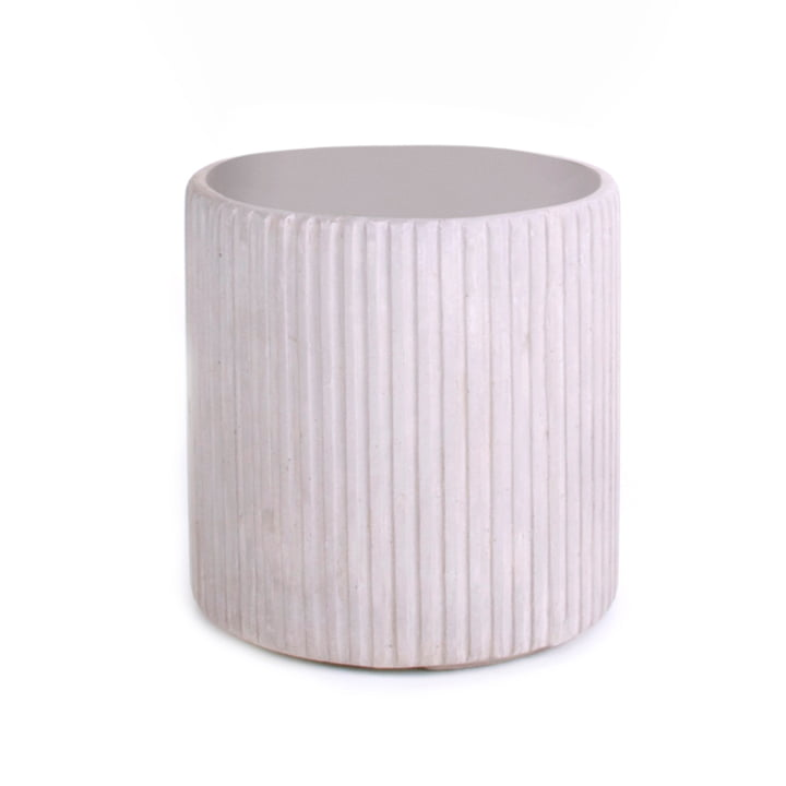 Mon Round Flowerpot S, grey from XLBoom