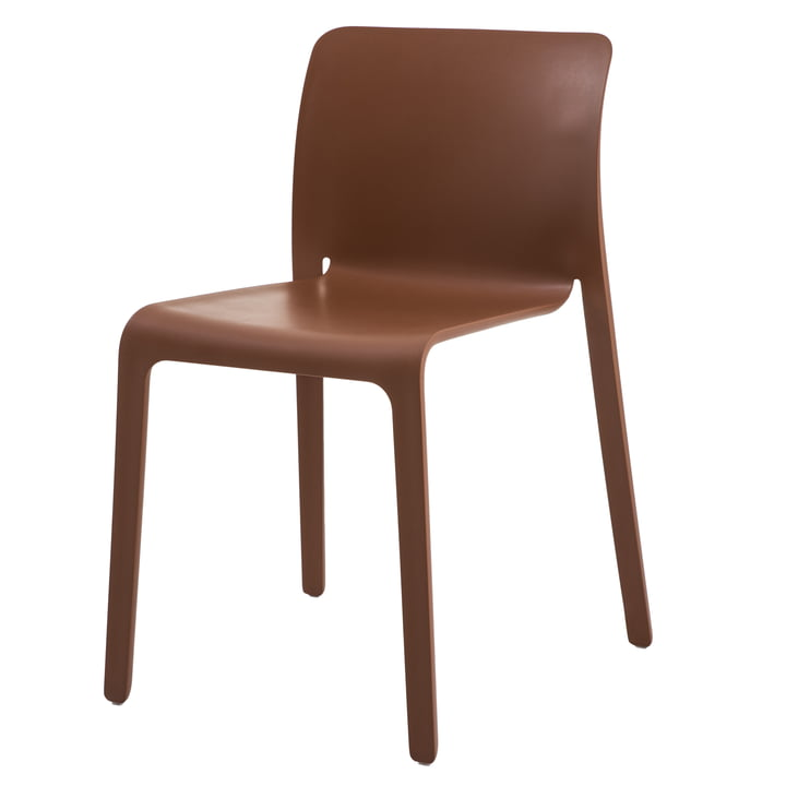 Chair First from Magis in terracotta