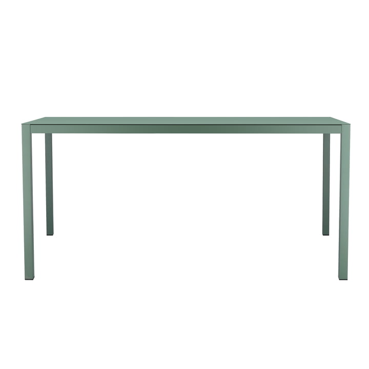 Aria table 180 x 90 cm by Fiam in sage