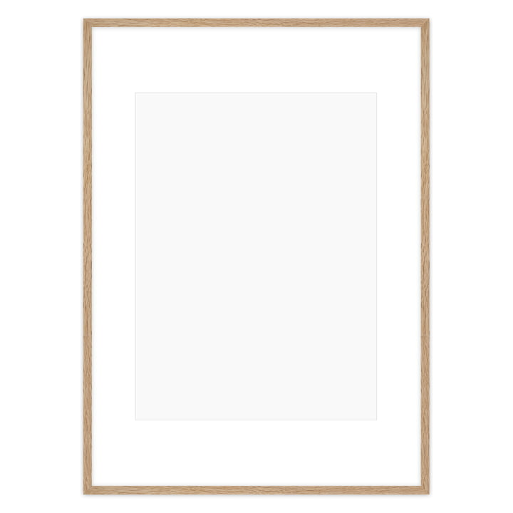 Poster frame 70 x 100 cm, oak from Connox Collection