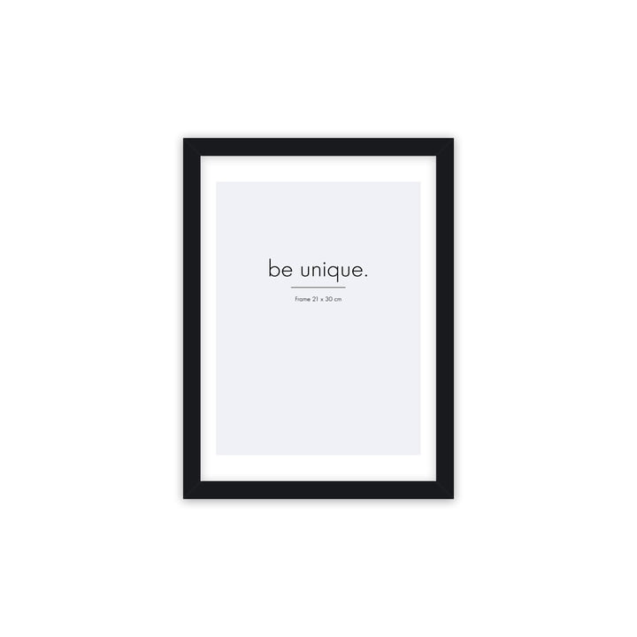 Floating picture frame 21 x 30 cm, black from Connox Collection