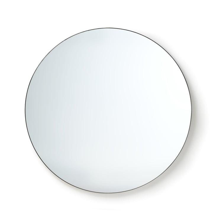 HKliving - wall mirror, Ø 120 cm, black