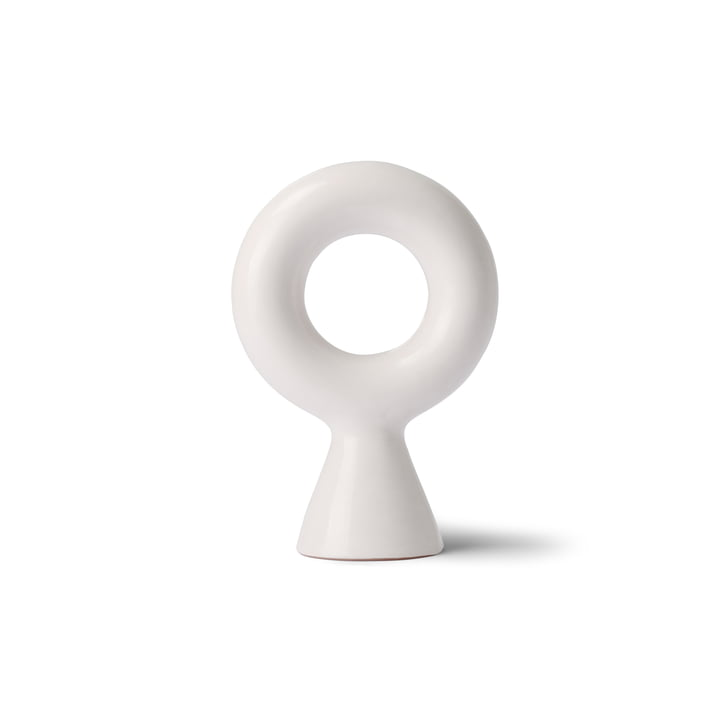 Chulucanas Circle On Base, white by HKliving