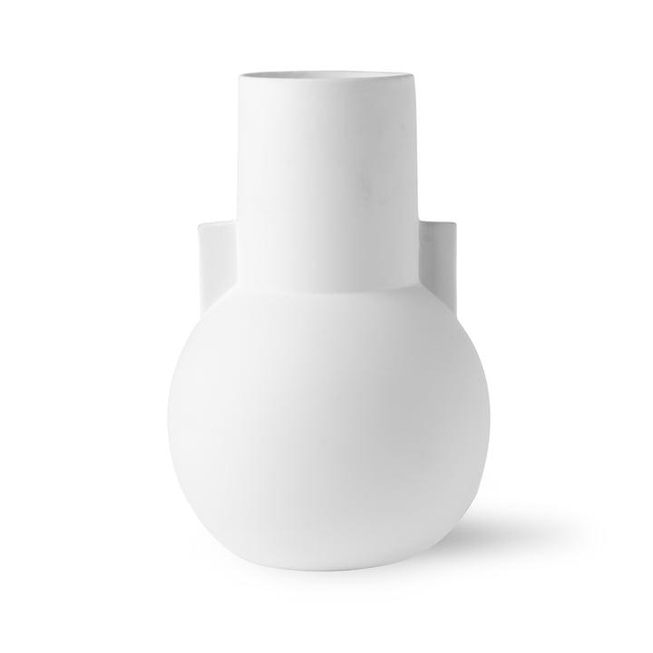 Vase S, Ø 17.5 x H 26 cm, matt white by HKliving