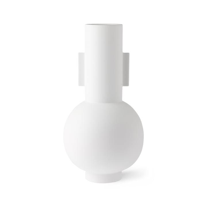 Vase L, Ø 21 x H 42.5 cm, matt white by HKliving