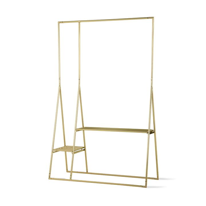 HKliving - Brass clothes rack, brass