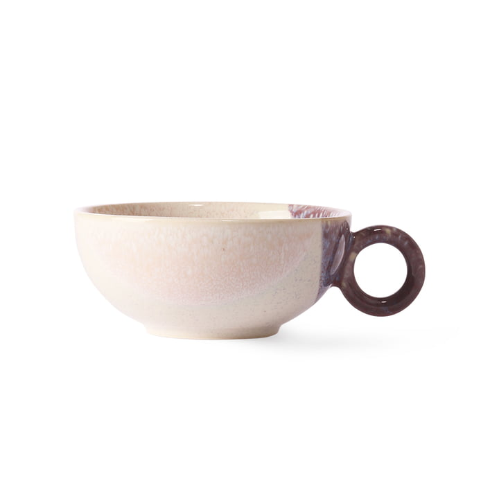 Gallery tea cup 260 ml by HKliving in nude / purple