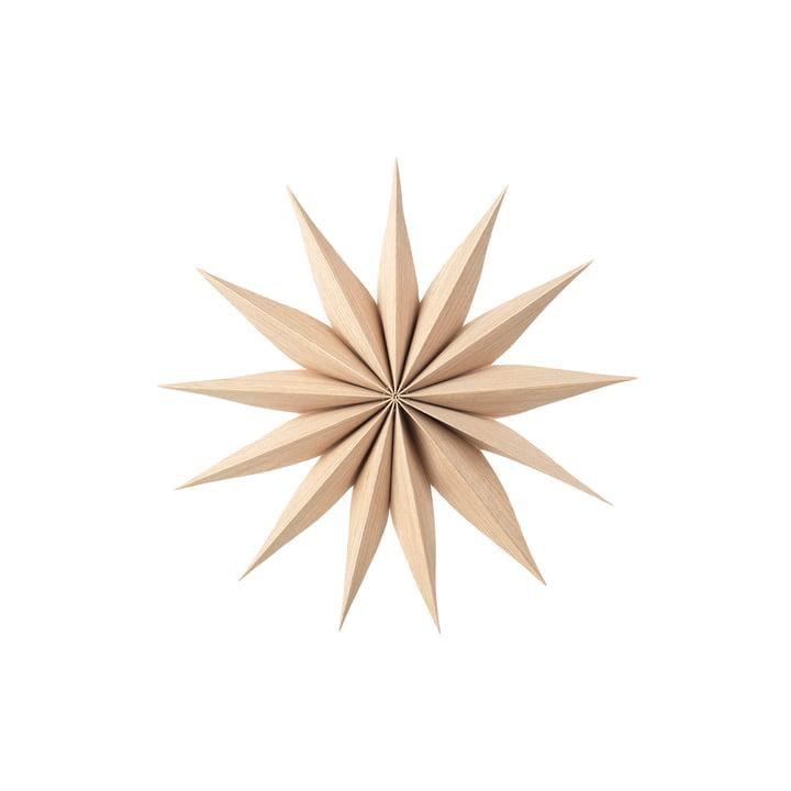 Venok decorative star S, Ø 30 cm / natural by Broste Copenhagen