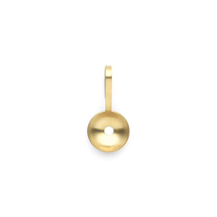 Fein ice cream spoon, brass from ferm Living