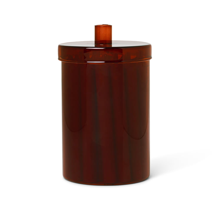 ferm Living - Count Down to Christmas Christmas calendar candle, dark red