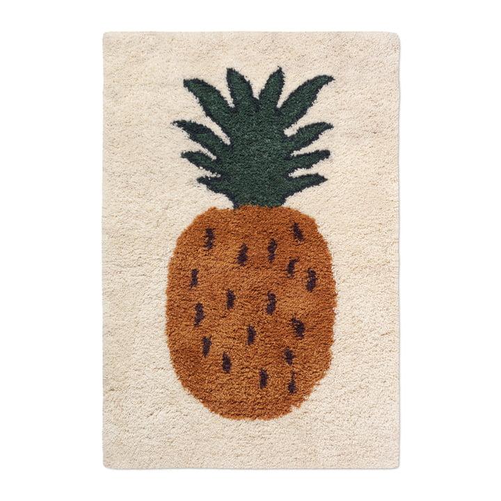 "Fruiticana carpet ""Pineapple"", L, from ferm Living"