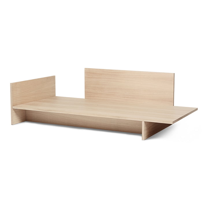 Kona bed, 90 x 200 cm, natural from ferm Living