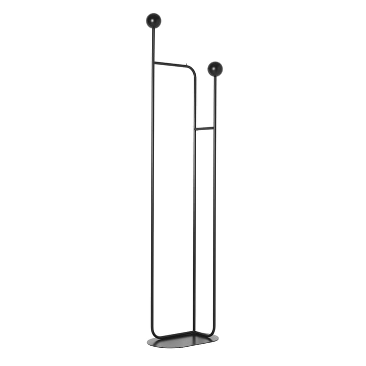Pujo coat stand, black from ferm Living
