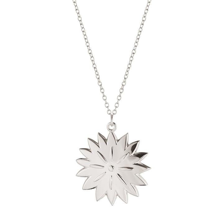 Ornament pendant 2020 Ice Dianthus, palladium by Georg Jensen .