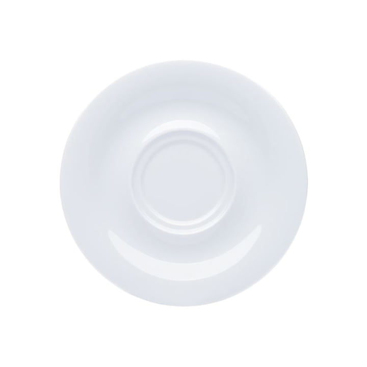Pronto Colore saucer 16 cm in white by Kahla