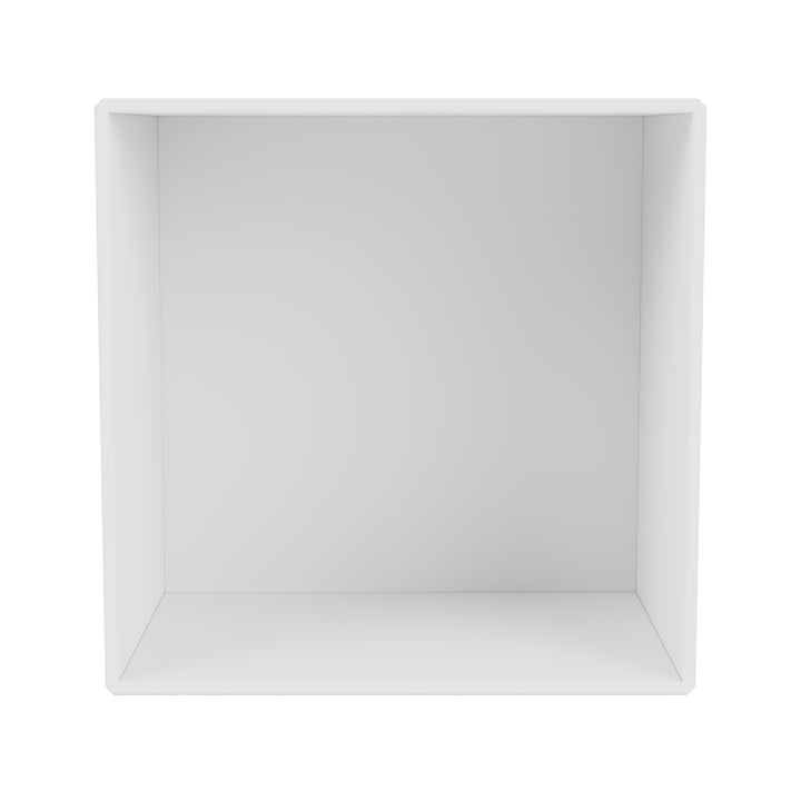 Mini shelf module open, new white from Montana .