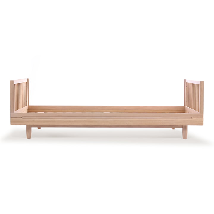 Pure Single bed, 90 x 200 cm, oak by Nobodinoz