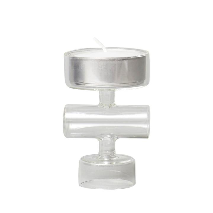 Cartwheel candle Form & Refine, glass by Form & Refine