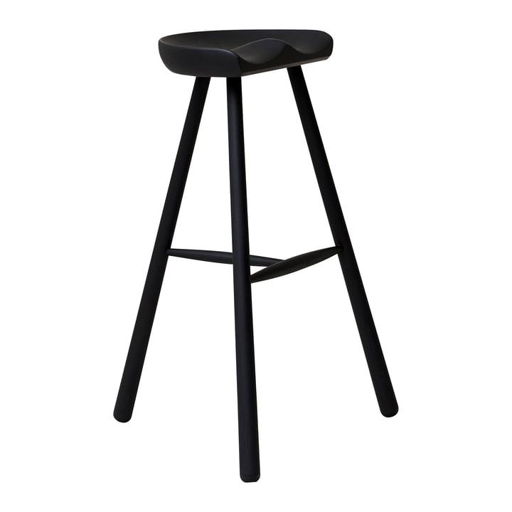 Shoemaker Chair, No. 78, black beech from Form & Refine