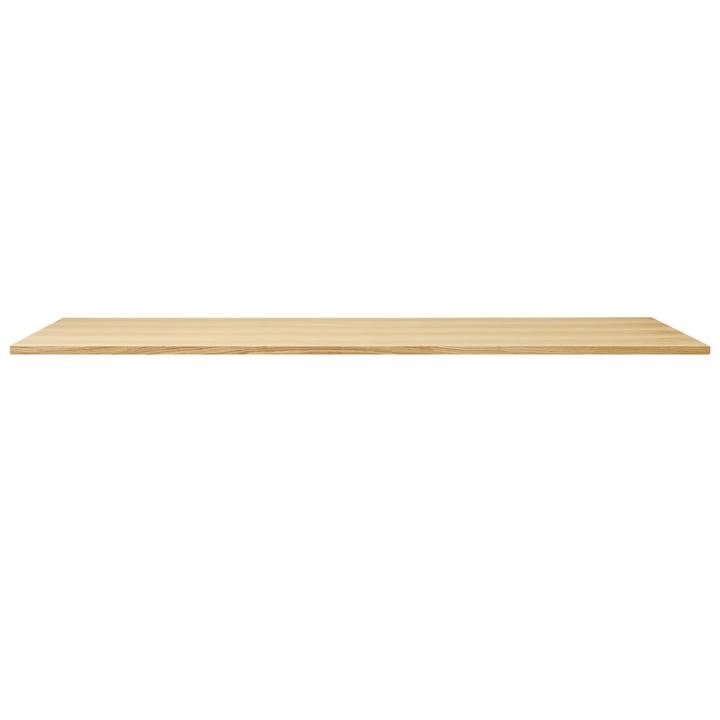 Linear table top, 205 x 88 cm, oak from Form & Refine