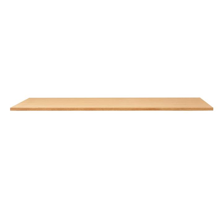 Linear table top, 165 x 88 cm, oak from Form & Refine