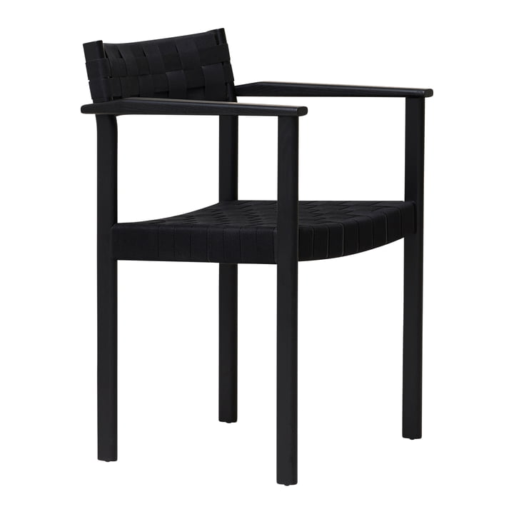 Motif armchair, black oak from Form & Refine