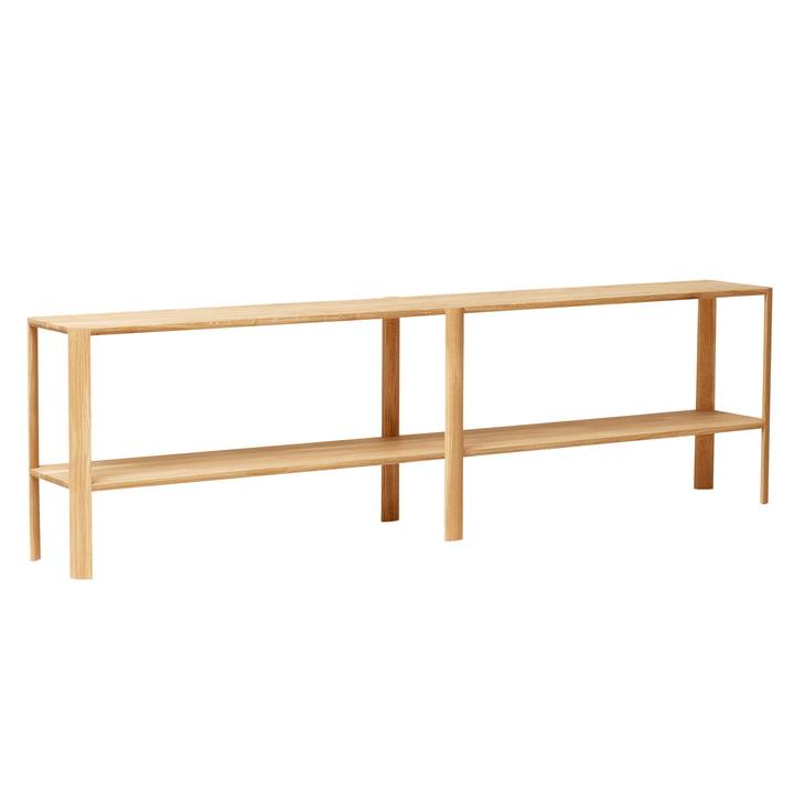 Leaf shelf, 2 x 2, oak by Form & Refine