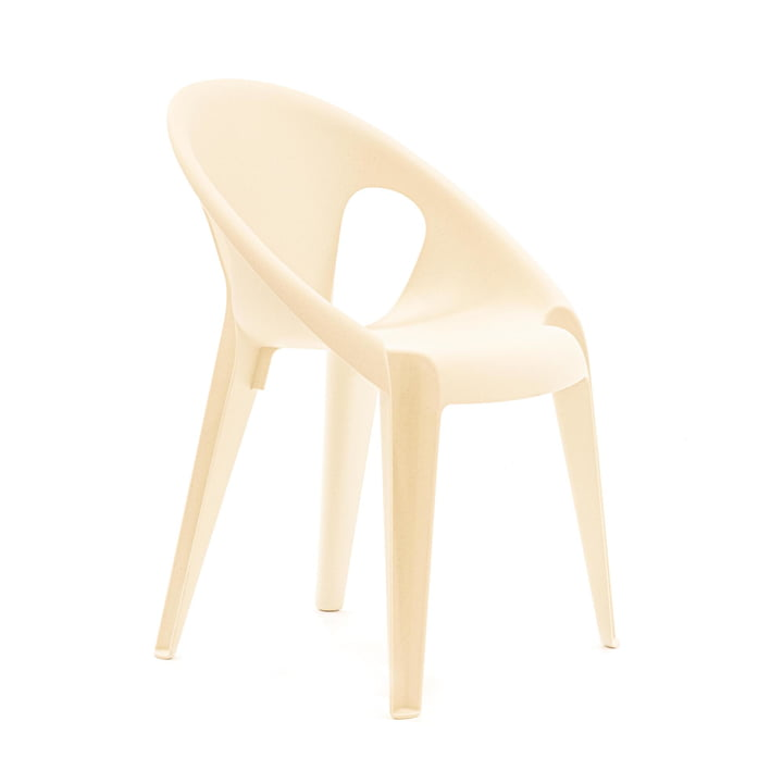 Bell Chair by Magis in highnoon white