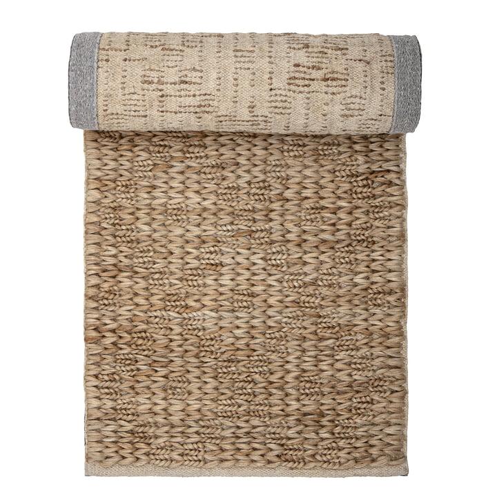 Lasmina natural fiber rug, 240 x 76 cm, jute / natural from Bloomingville