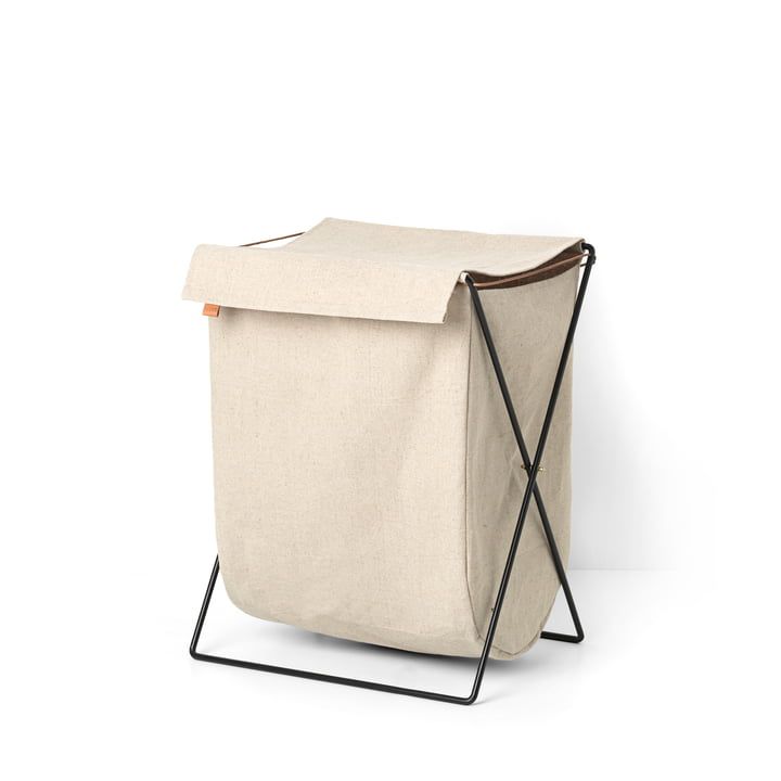 Herman laundry basket by ferm Living in sand