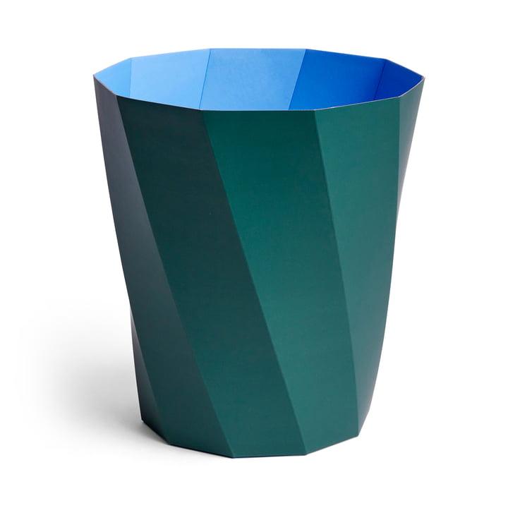 Paper Paper paper basket, Ø 28 x H 30.5 cm, dark green by Hay .