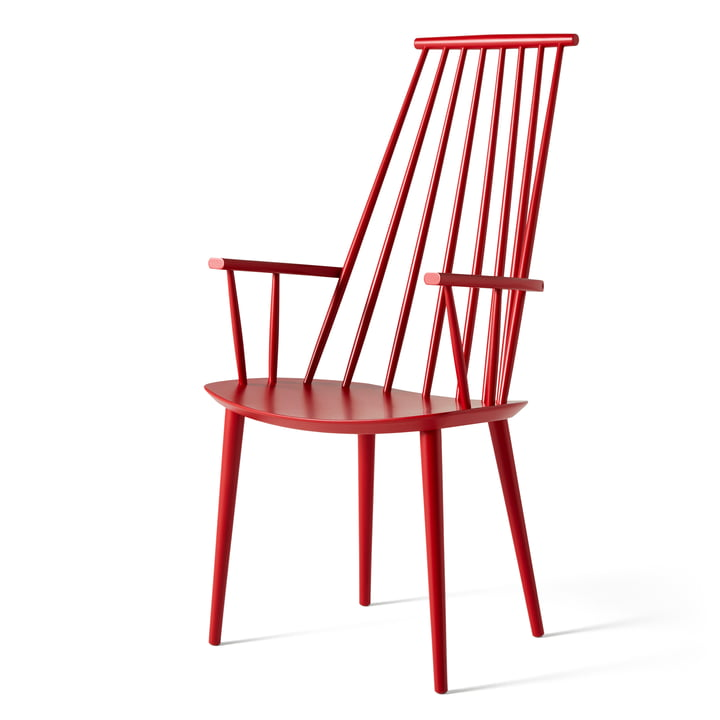 J110 Chair by Hay in raspberry red