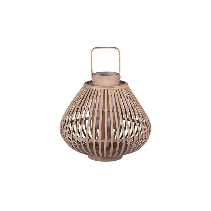Sahara bamboo lantern S Ø 31.5 x H 28 cm by von Broste Copenhagen in natural
