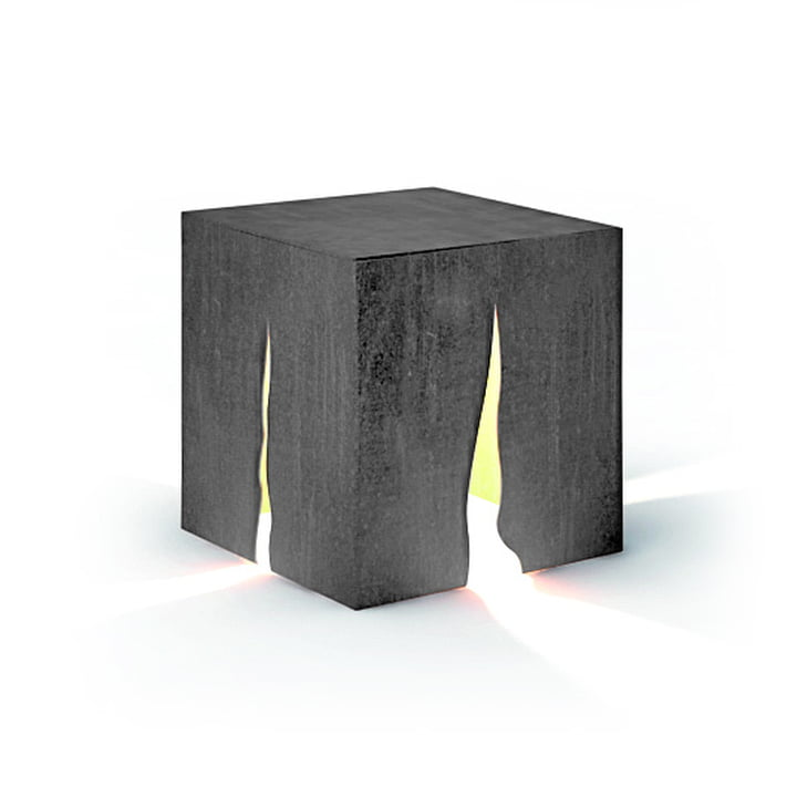 Granito outdoor floor lamp H 30 cm, gray by Artemide