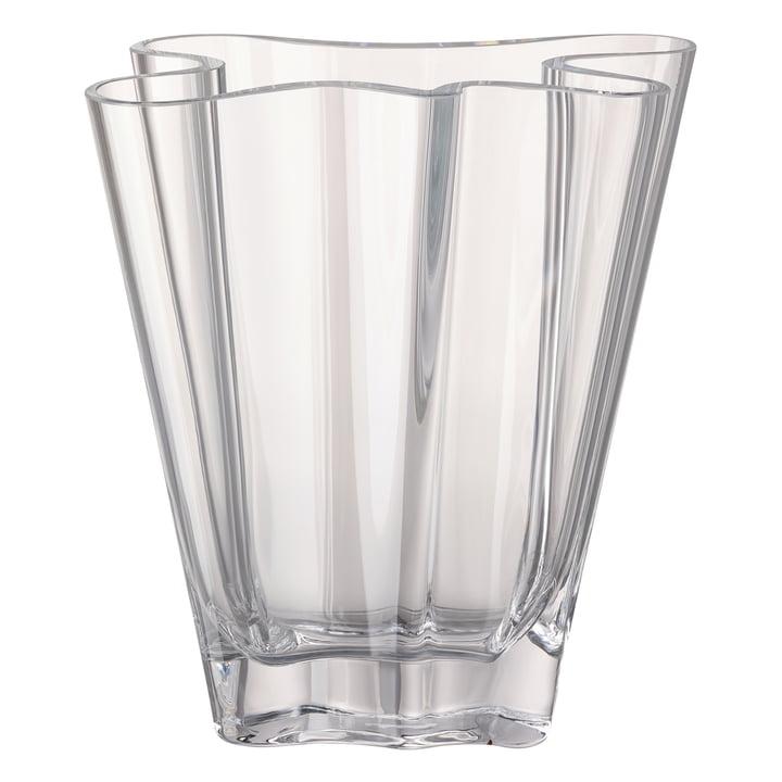 Flux vase, 26 cm / clear by Rosenthal