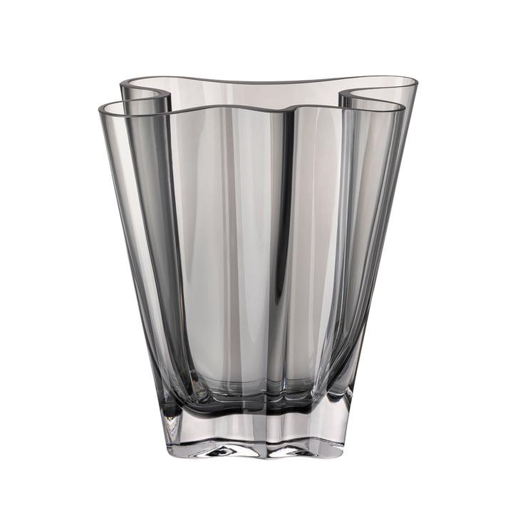 Flux vase, 20 cm / gray by Rosenthal