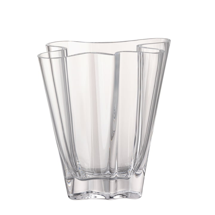 Flux vase, 20 cm / clear by Rosenthal