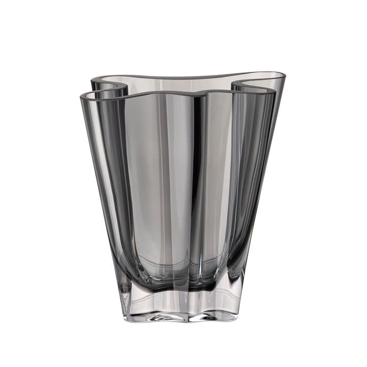 Flux vase, 14 cm / gray by Rosenthal