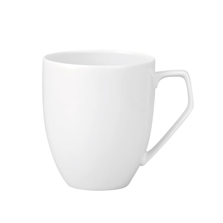 TAC mug with handle 0.36 l, white by Rosenthal