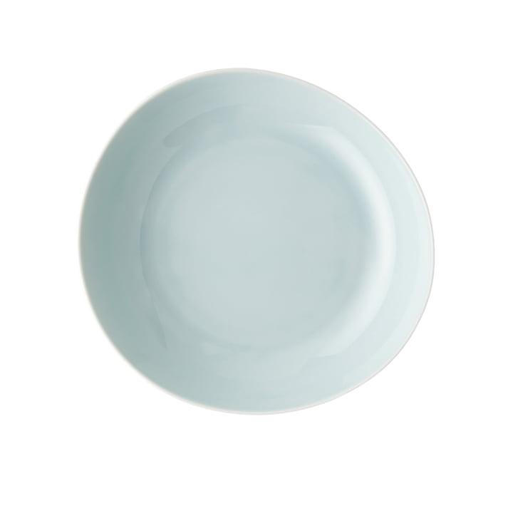 Junto plate Ø 22 cm deep, opal green by Rosenthal