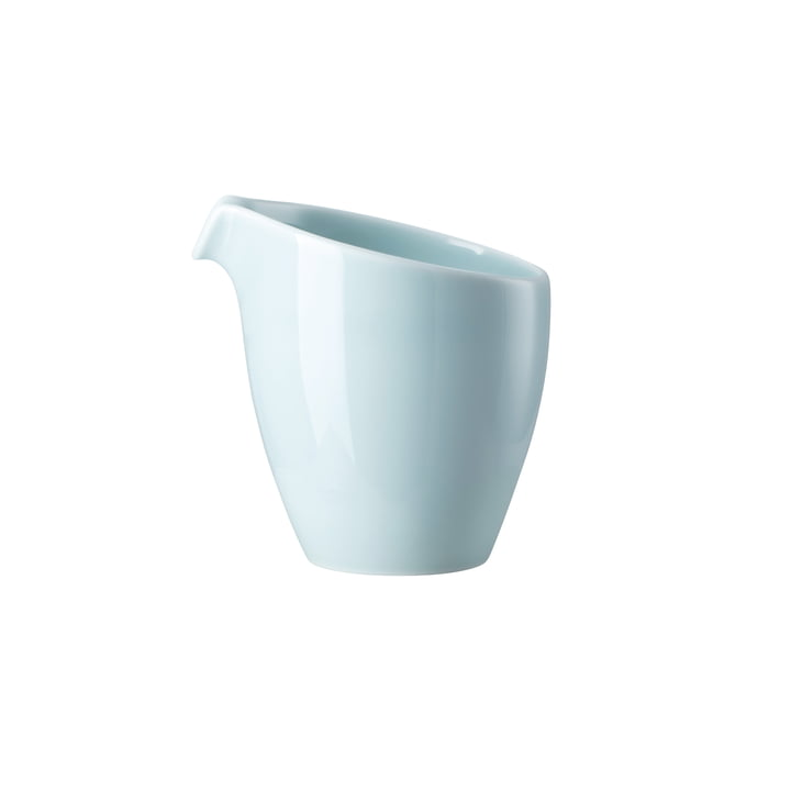 Junto milk jug 2 cl, opal green by Rosenthal