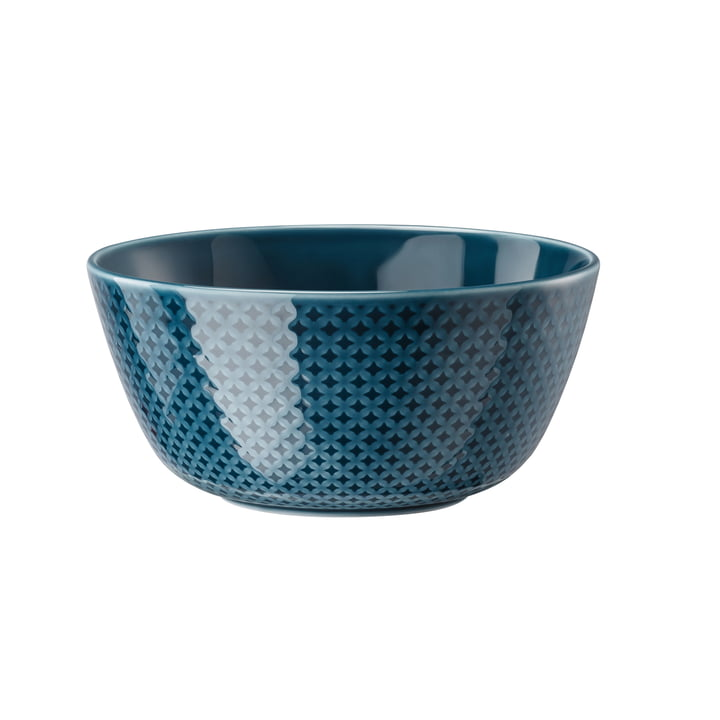 Junto cereal bowl, 14 cm / ocean blue by Rosenthal