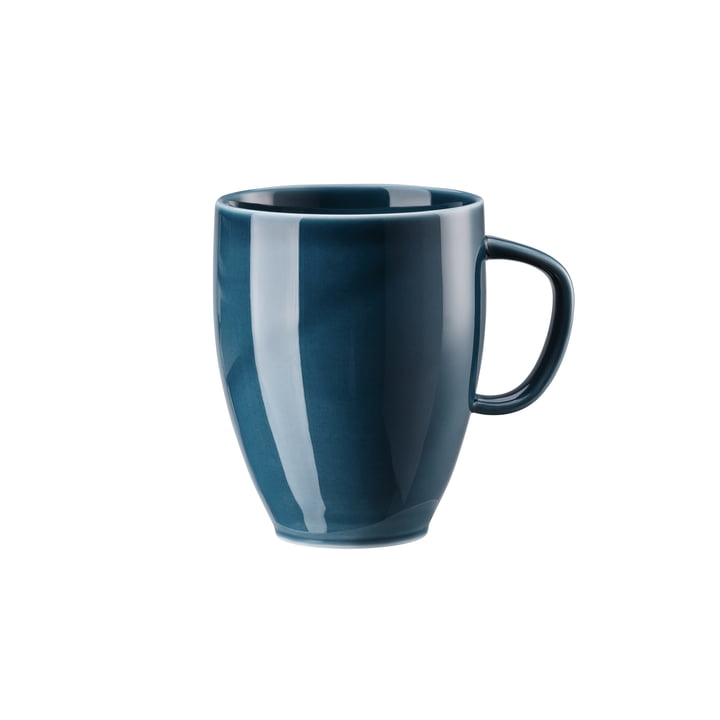 Junto mug with handle 38 cl, ocean blue by Rosenthal