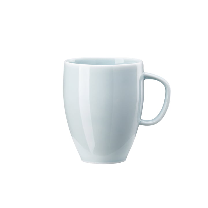 Junto mug with handle 38 cl, opal green by Rosenthal