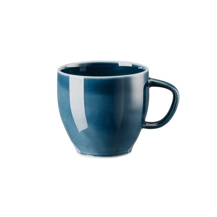 Junto coffee cup, ocean blue by Rosenthal