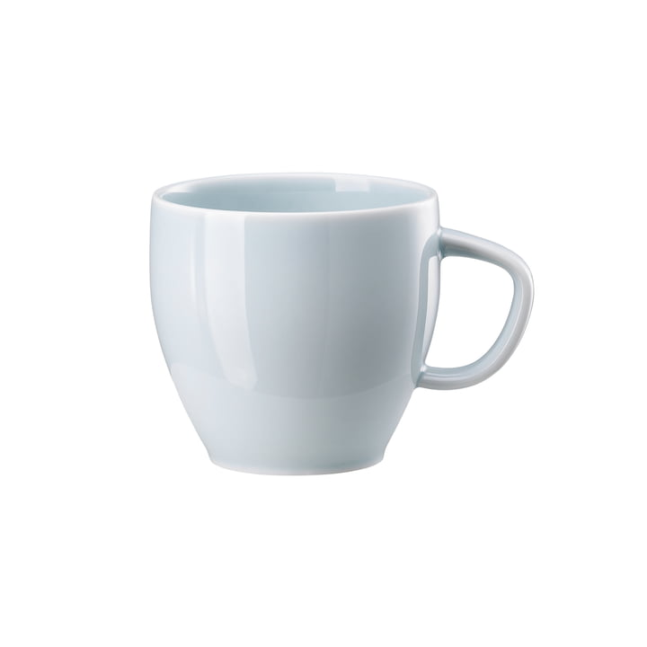 Junto coffee cup, opal green by Rosenthal