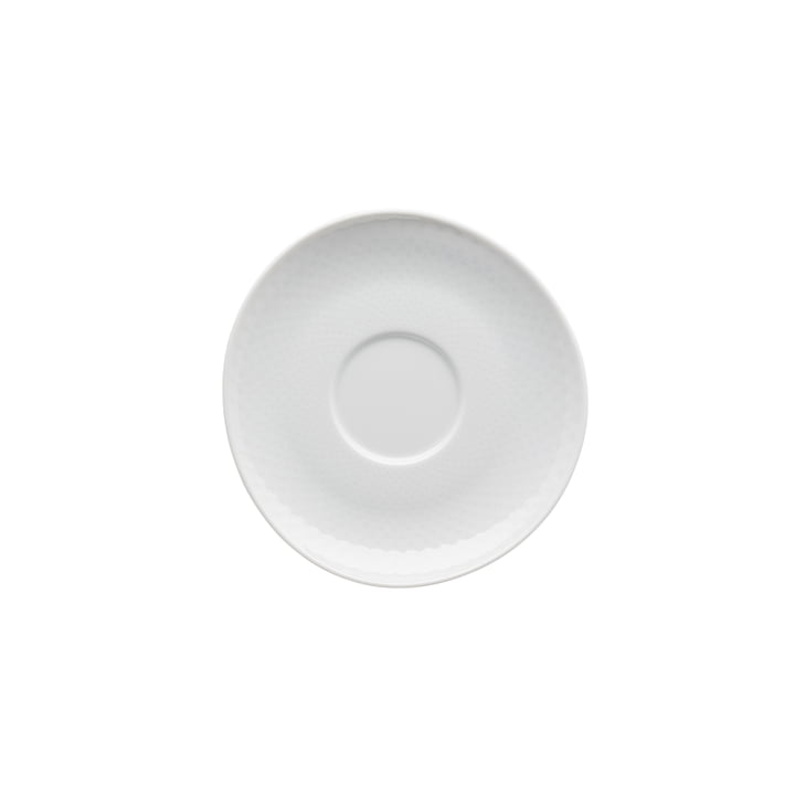 Junto combination / tea / coffee saucer Ø 15 cm, white by Rosenthal